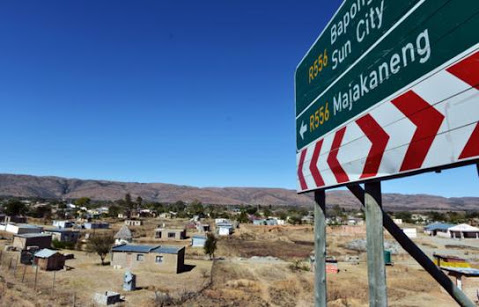 31/07/2015. A view of Majakaneng where it is believed that the is a serial killerPicture: Phill MagakoePicture: Phill Magakoe